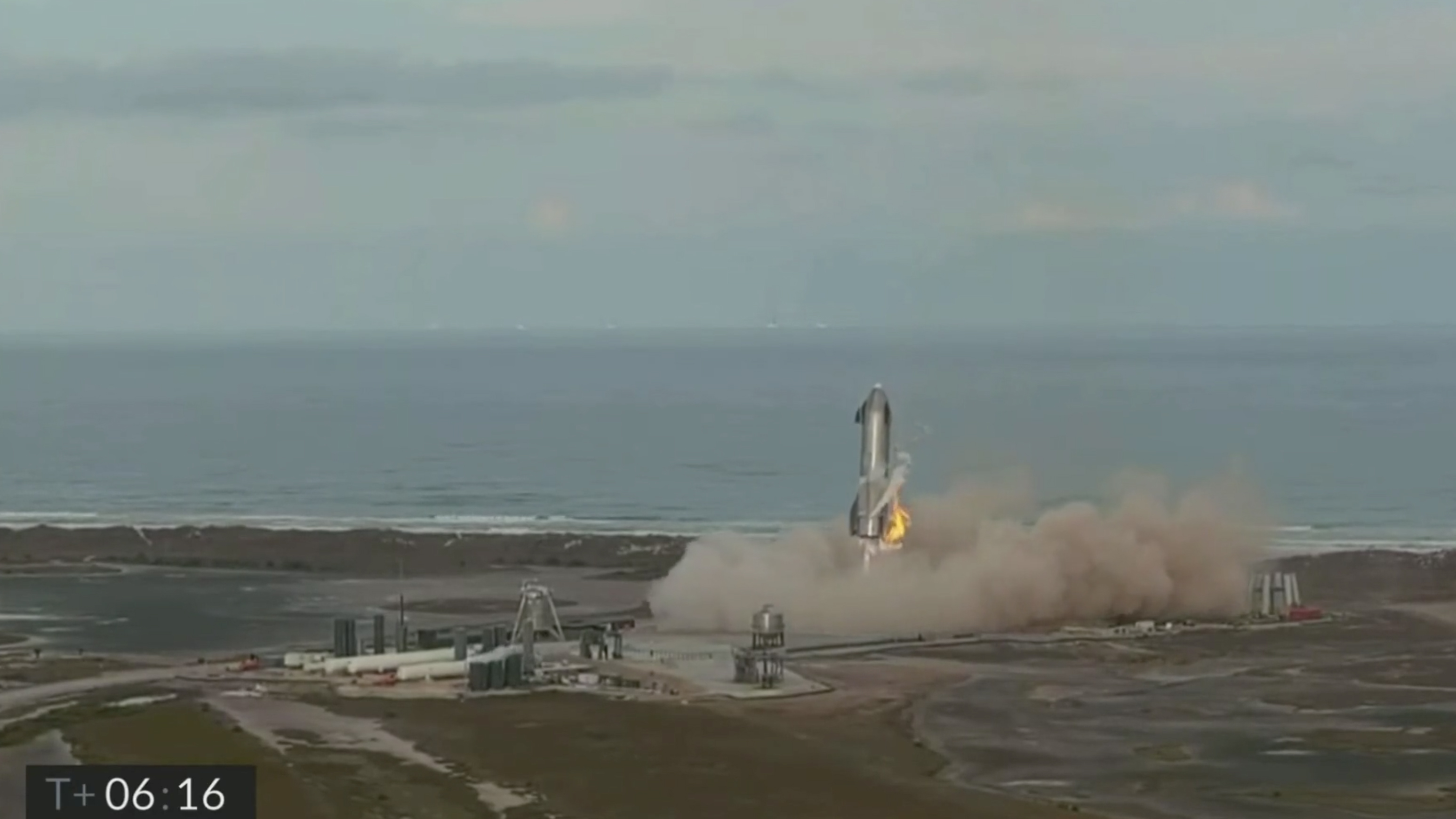 SpaceX's Starship SN10 rocket prototype completed a test launch on Wednesday (March 3), and even though it had a successful liftoff and soft landing, it exploded upon landing at the company's Boca Chica, Texas site.