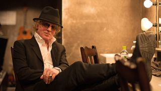 Photo of singer/songwriter Ian Hunter