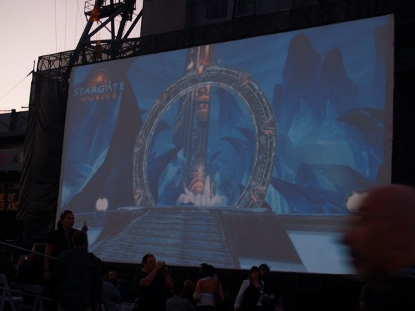 Comic Con: Aircraft Carrier Premiere Of Stargate Continuum #2875