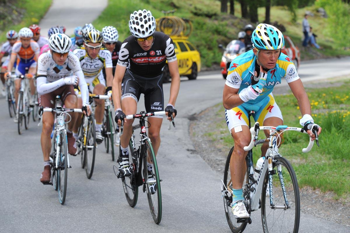 Alexandre Vinokourov escape, Giro d'Italia 2010, stage 20