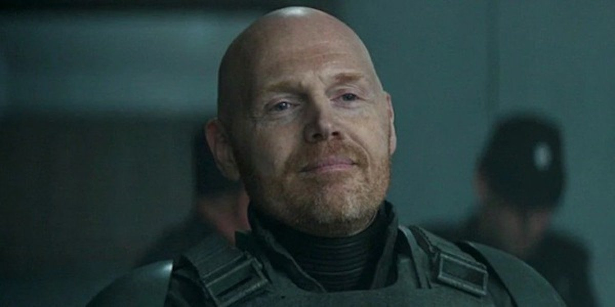 The Mandalorian's Bill Burr Shares Blunt Thoughts On Gina ...