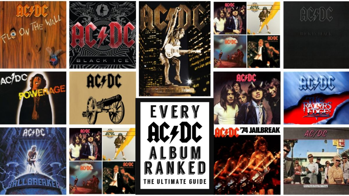AC/DC's Top 10 Albums: 'Back in Black,' 'Highway to Hell ...