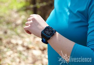 The Garmin Forerunner 920XT.