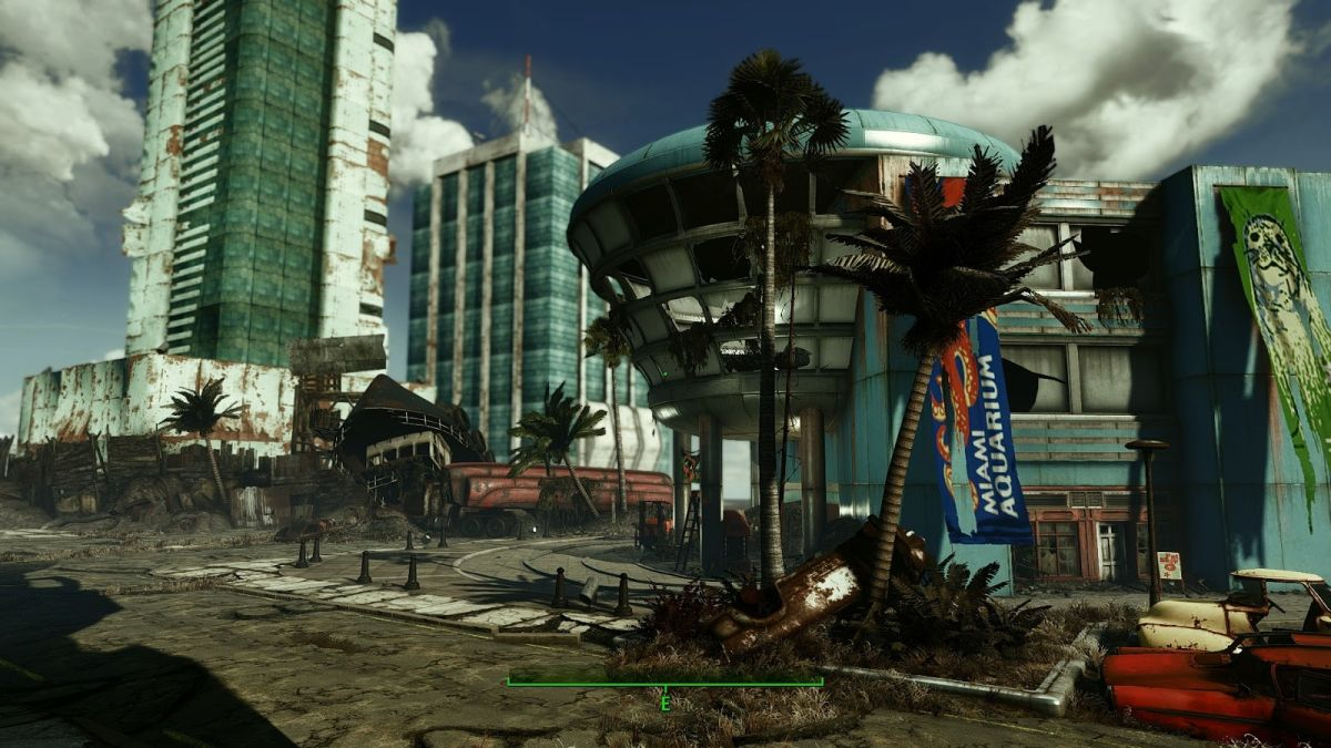 An early version of the Fallout Miami mod has been released