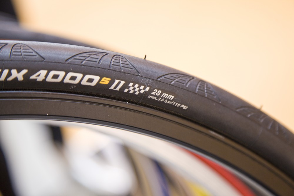 Wider tyres are great for winter riding, but keep an eye on wear and tear