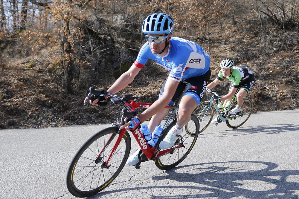 Thumbnail: Adriatico Stage 04 : Indicatore - Cittareale MILLAR David (GBR) Garmin - Sharp Photo : Yuzuru SUNADA .