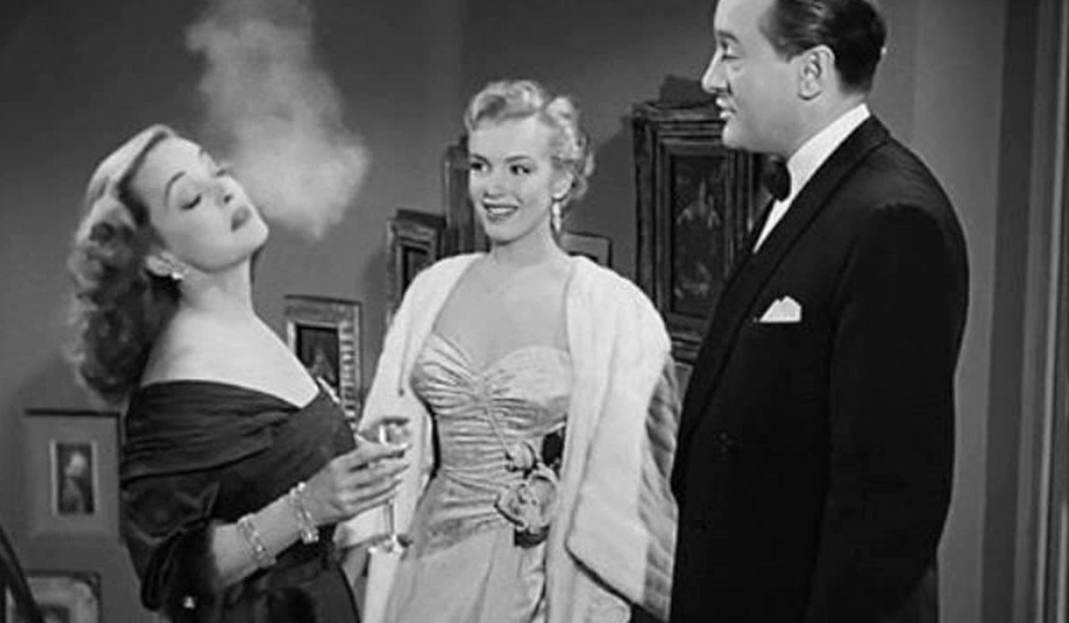 All About Eve Bette Davis smoking