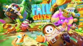 Fall Guys Season 5 splash art