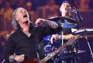 James Hetfield and Lars Ulrich of Metallica