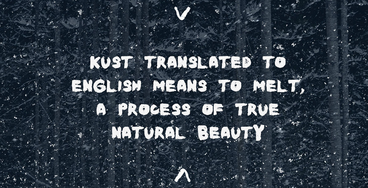 Best free fonts: Kust