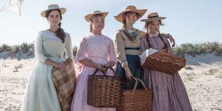 The cast of director Greta Gerwig's Little Women