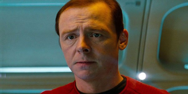 Simon Pegg in Star Trek 4