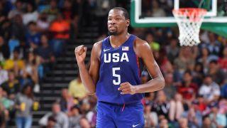 Kevin Durant Team USA basketball