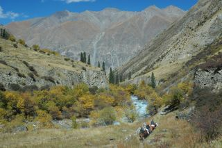China's Tian Shan Mountains