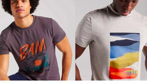 BAM Graphic Bamboo T-shirt