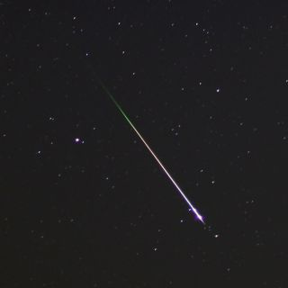 Leonid Meteor Shower 2012 Closeup: Mike Hankey