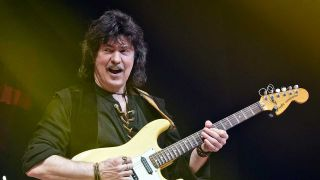 Ritchie Blackmore onstage
