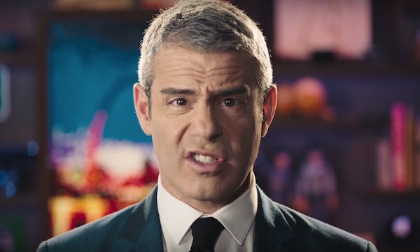 Andy Cohen Watch What Happens Live with Andy Cohen promo