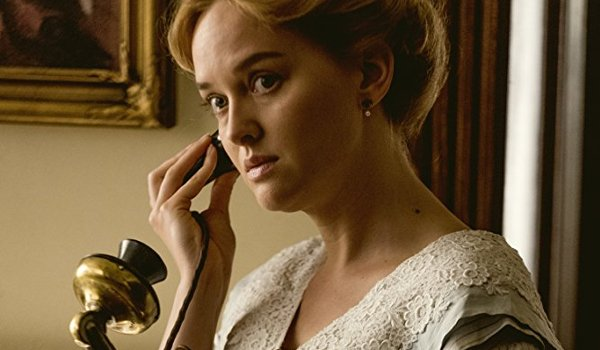 The Son Jess Weixler taking an important phone call