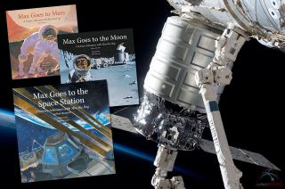 Kids' Books launched to Space Station
