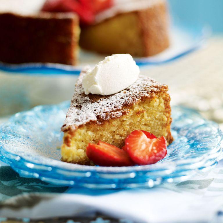Almond, Polenta and Honey Cake recipe-Cake recipes-recipe ideas-new recipes-woman and home