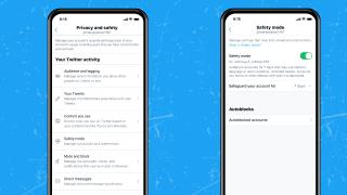Modo seguro en Twitter