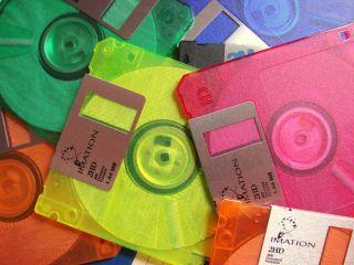Floppies, floppy discs, data storage