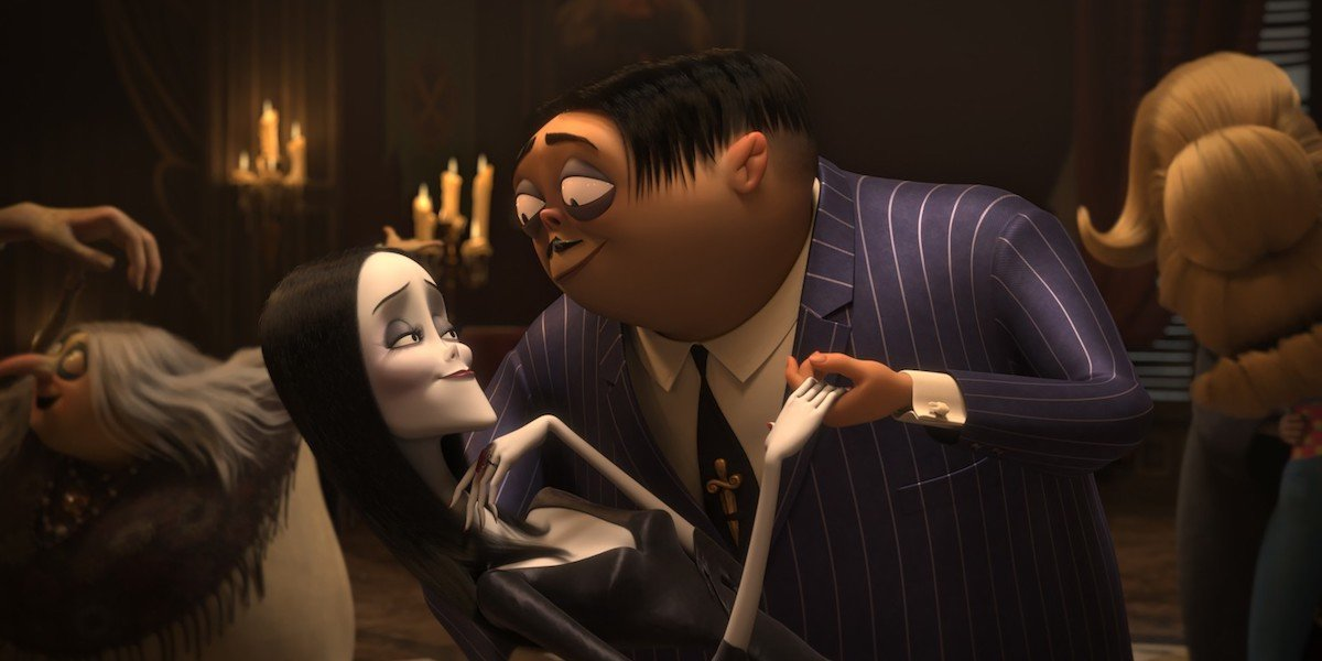 Addams Family animated movie, Charlize Theron Morticia and Oscar Isaac Gomez