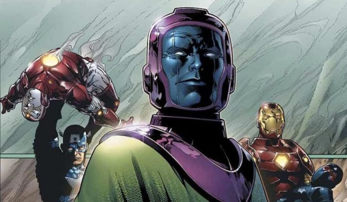 Kang the Conqueror, Iron Man and Captain America in the comic books