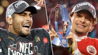 Super Bowl 2020 teams: Jimmy Garoppolo leads the 49ers while Patrick Mahomes leads the 49ers.