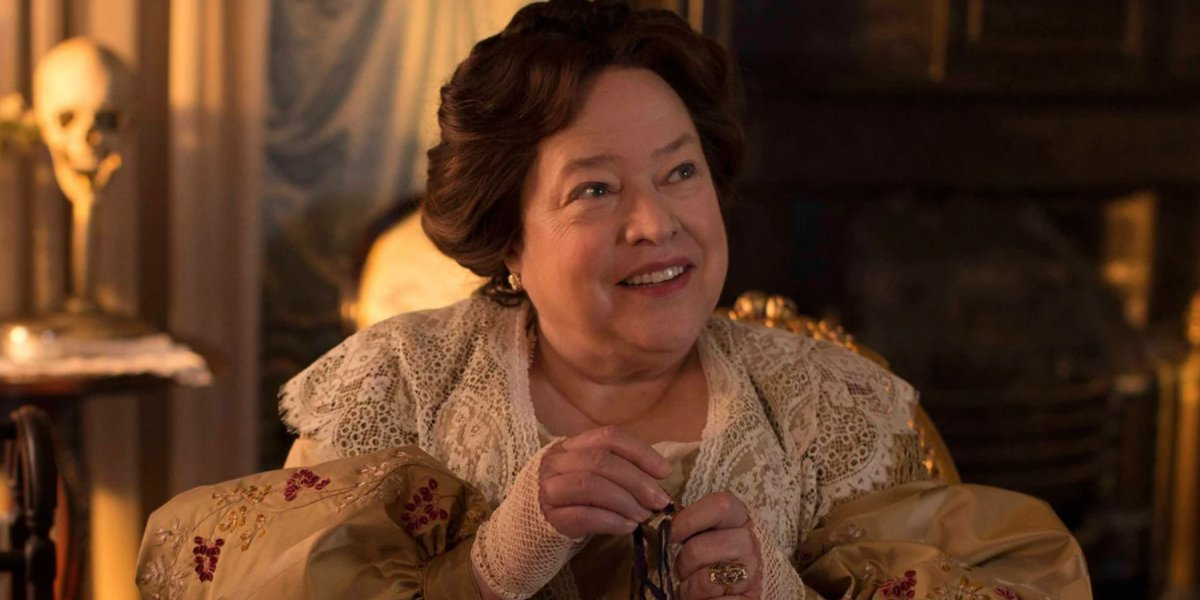 Kathy Bates as Madame Delphine LaLaurie in American Horror Story