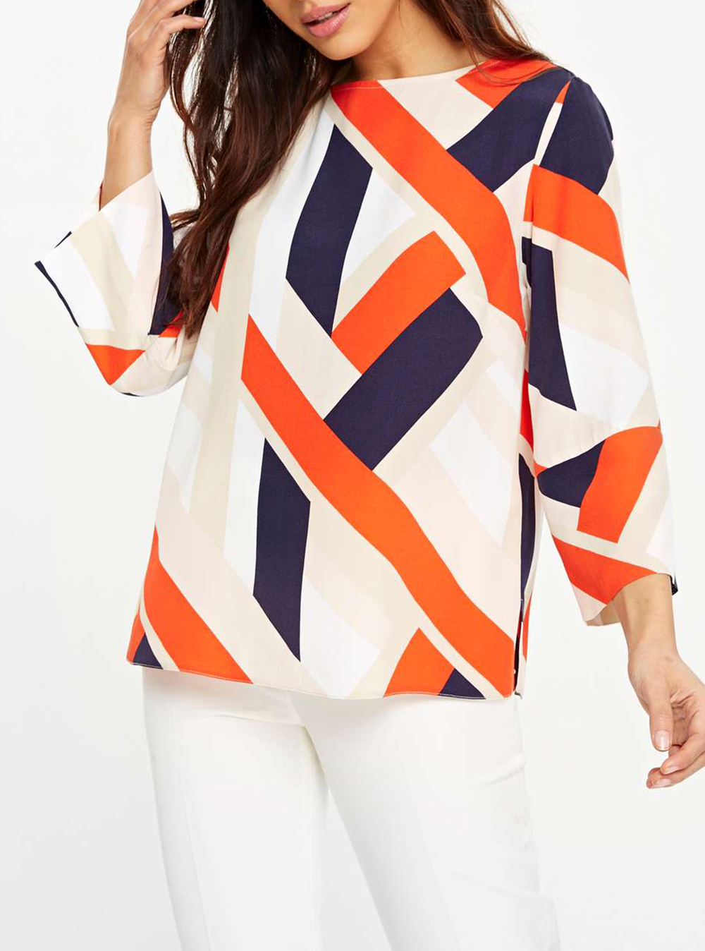 Wallis Colour Block Top