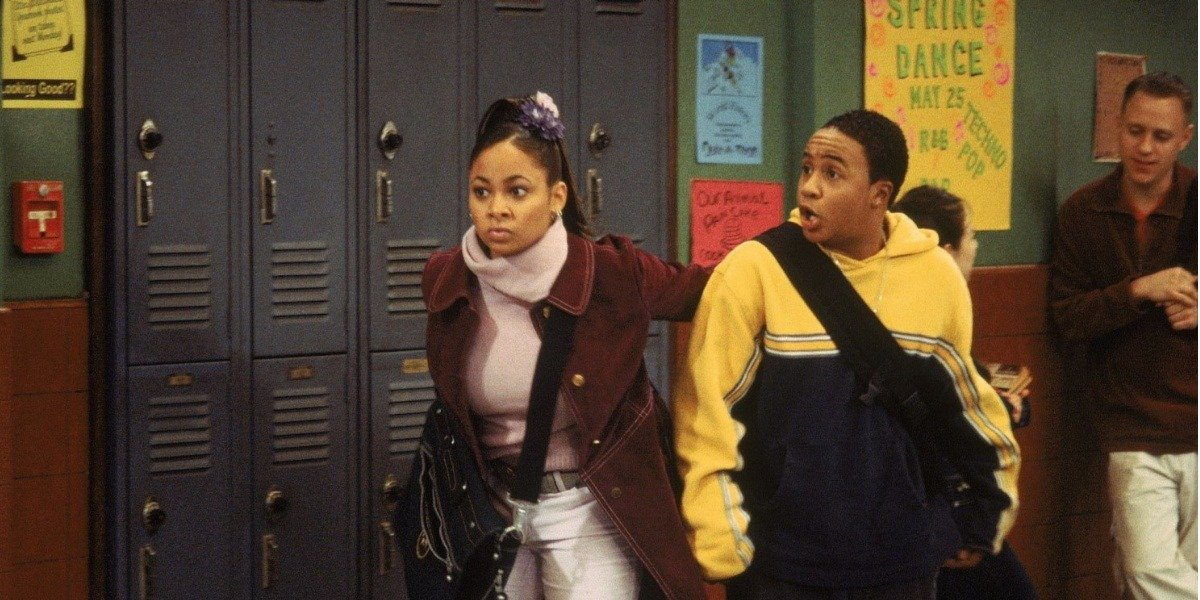 Raven Symone and Orlando Brown in That's So Raven