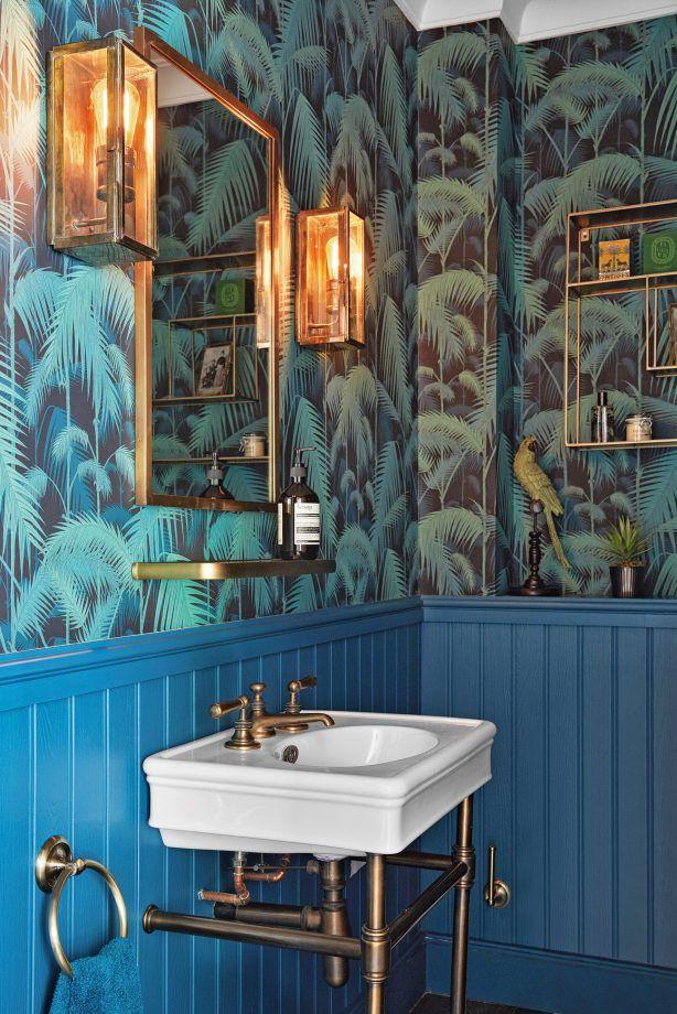 Bathroom Wallpaper Ideas Prints And, Wallpaper For Bathroom Walls
