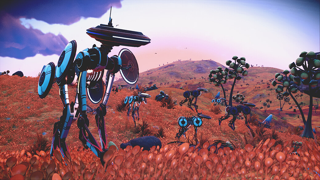 "Wild synthetic ""animals"" can now be found natively on some planets."
