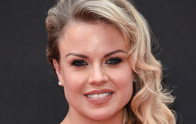 Ex Strictly Come Dancing favourite Joanne Clifton at an awards bash