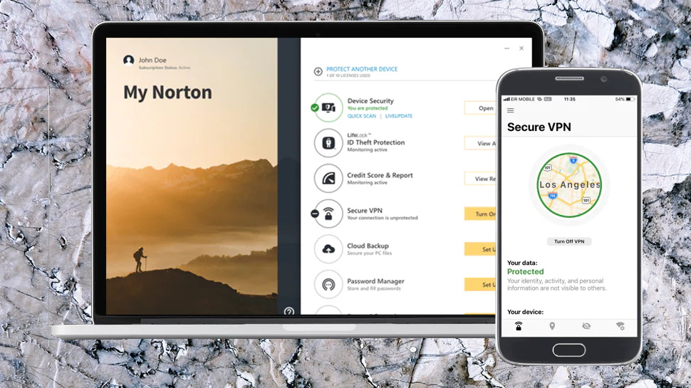 Norton Secure VPN Apps