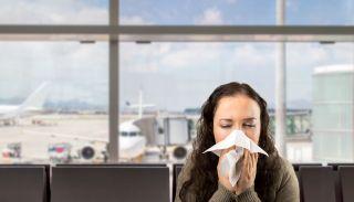 sneeze, airport