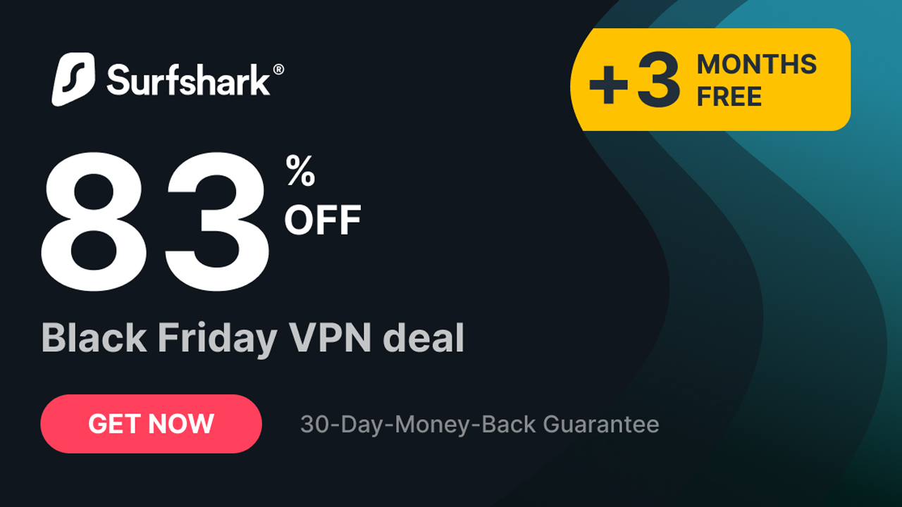 Save 83 Over Two Years With This Massive Surfshark Black Friday Vpn Deal Tom S Guide