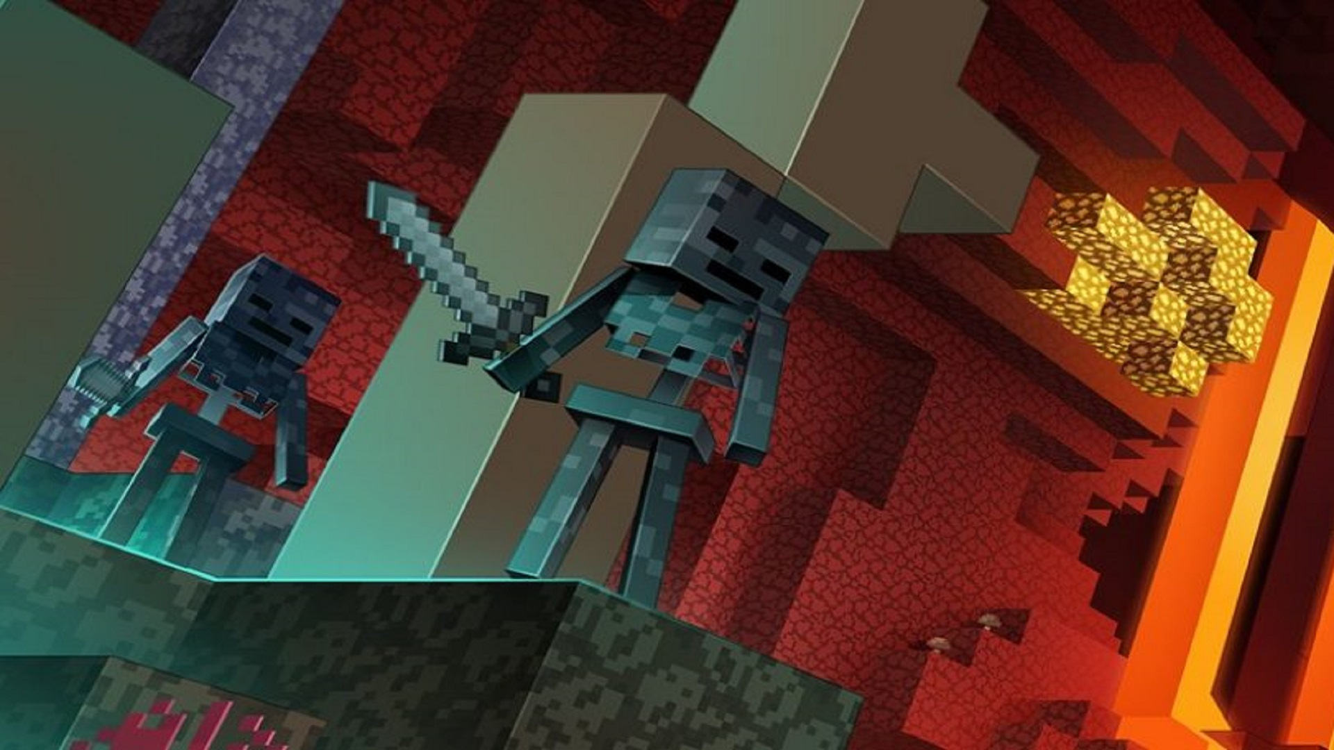 Minecraft S Next Big Update Takes You On A New Adventure In The Fiery Dimension On June 23 Gamesradar