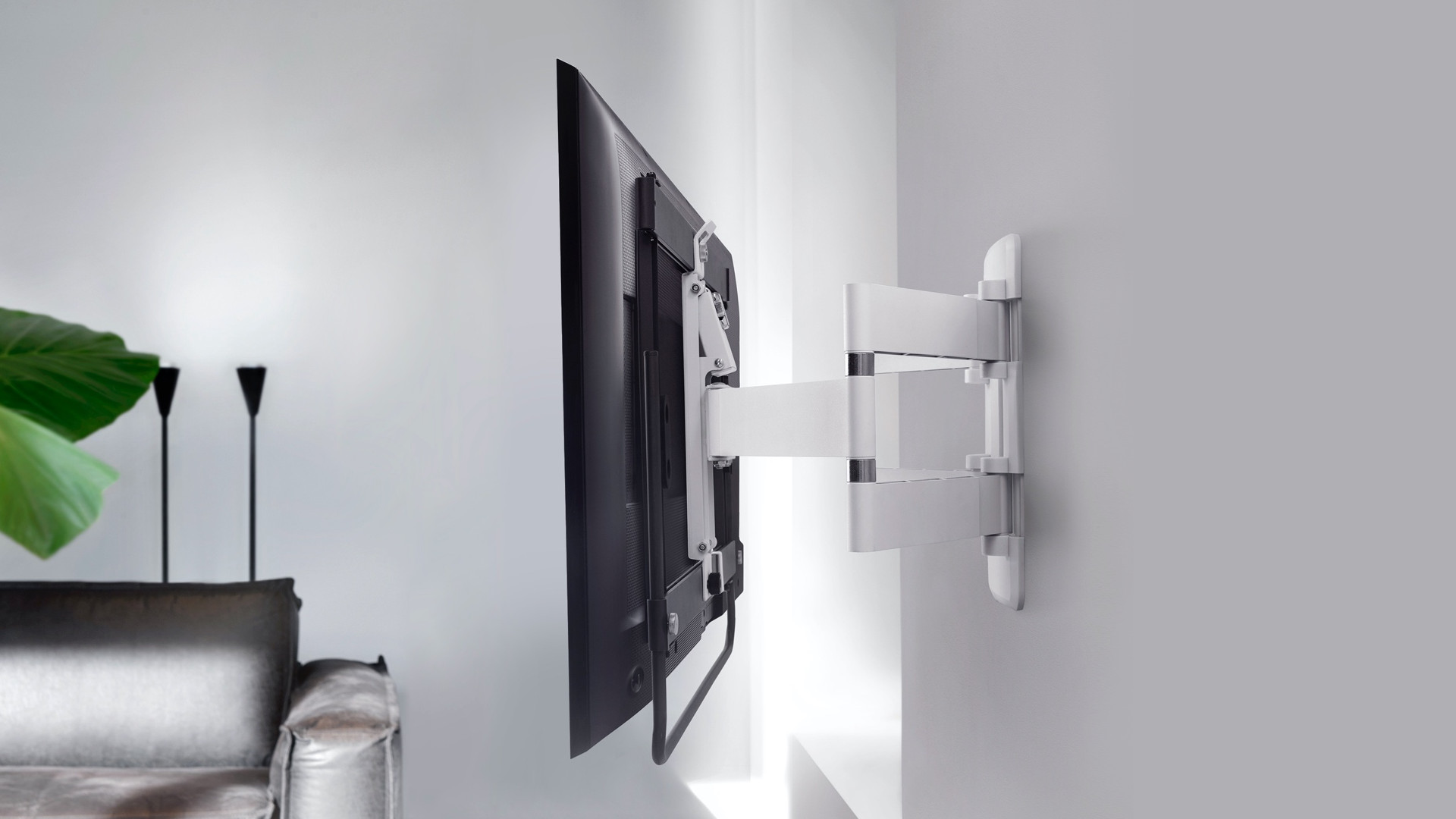 Best Tv Wall Mounts 2020 The Best Mounting Brackets From Flush Mount To Full Motion T3