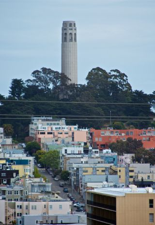 Photo of Coit Tower in San Francisco