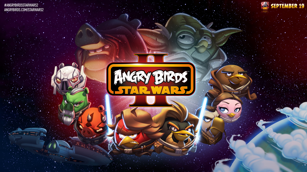 Rovio Reveals Angry Birds Star Wars Ii Space