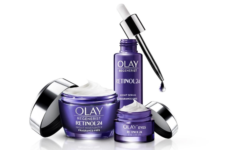 Olay releases retinol range