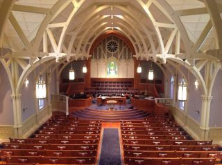 Iconyx Brings High-Tech Sound to the Parker Memorial Baptist Church