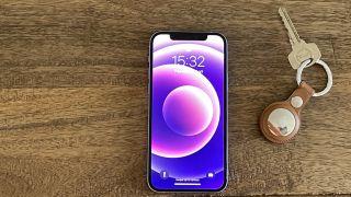 Apple iPhone 12 purppura