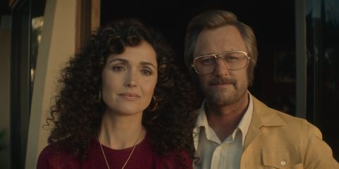 Rose Byrne and Rory Scovel in Physical