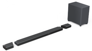 The Philips Fidelio B97 is a premium Dolby Atmos soundbar with detachable surrounds