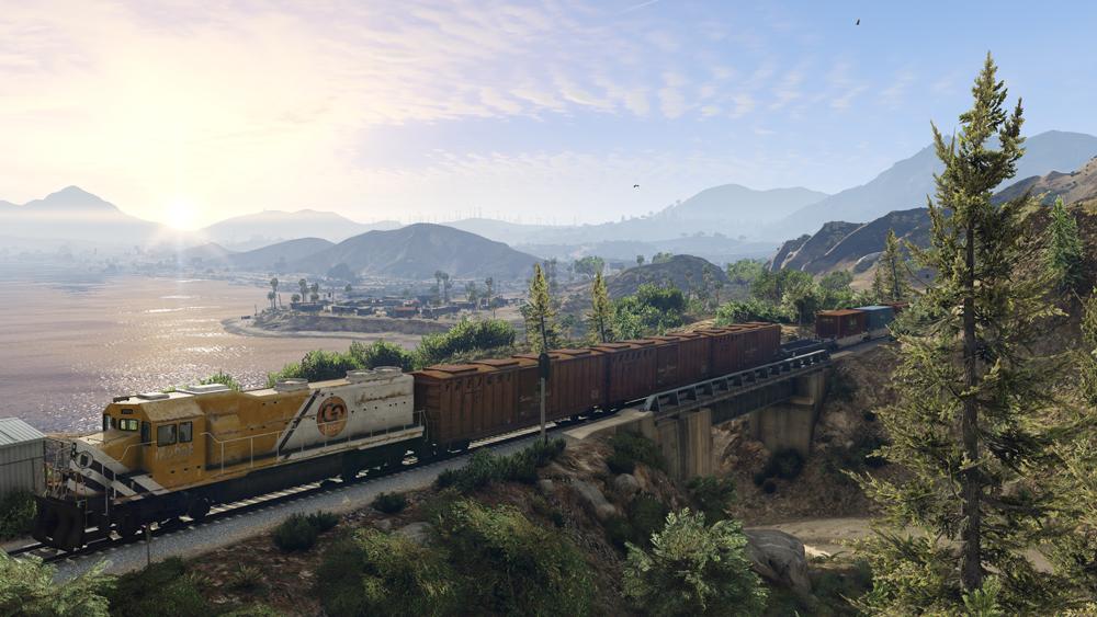 GTA 5 PC Screenshots Show Off Updated Graphics #32596
