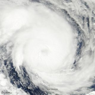 Tropical Cyclone Jasmine on Feb. 7, 2012.